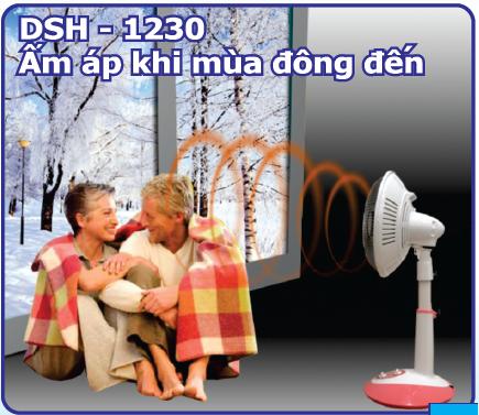 quạt sưởi DSH-1230